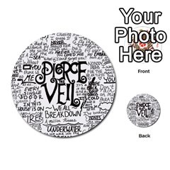 Pierce The Veil Music Band Group Fabric Art Cloth Poster Multi Purpose Cards (round)
