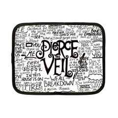Pierce The Veil Music Band Group Fabric Art Cloth Poster Netbook Case (Small)