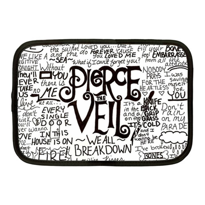 Pierce The Veil Music Band Group Fabric Art Cloth Poster Netbook Case (Medium)