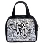 Pierce The Veil Music Band Group Fabric Art Cloth Poster Classic Handbags (2 Sides) Front