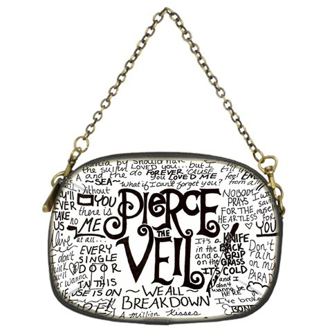 Pierce The Veil Music Band Group Fabric Art Cloth Poster Chain Purses (One Side)