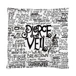 Pierce The Veil Music Band Group Fabric Art Cloth Poster Standard Cushion Case (Two Sides) Back