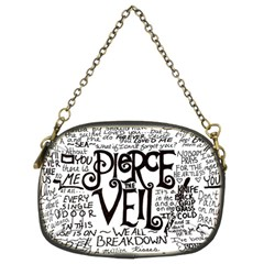 Pierce The Veil Music Band Group Fabric Art Cloth Poster Chain Purses (Two Sides)