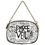 Pierce The Veil Music Band Group Fabric Art Cloth Poster Chain Purses (Two Sides)  Back