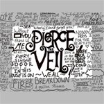 Pierce The Veil Music Band Group Fabric Art Cloth Poster Mini Canvas 6  x 4  6  x 4  x 0.875  Stretched Canvas