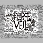Pierce The Veil Music Band Group Fabric Art Cloth Poster Mini Canvas 7  x 5  7  x 5  x 0.875  Stretched Canvas