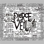 Pierce The Veil Music Band Group Fabric Art Cloth Poster Canvas 10  x 8  10  x 8  x 0.875  Stretched Canvas