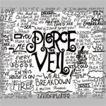 Pierce The Veil Music Band Group Fabric Art Cloth Poster Canvas 24  x 20  24  x 20  x 0.875  Stretched Canvas