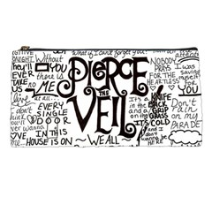 Pierce The Veil Music Band Group Fabric Art Cloth Poster Pencil Cases