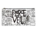 Pierce The Veil Music Band Group Fabric Art Cloth Poster Pencil Cases Front