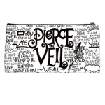 Pierce The Veil Music Band Group Fabric Art Cloth Poster Pencil Cases Back