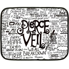 Pierce The Veil Music Band Group Fabric Art Cloth Poster Double Sided Fleece Blanket (Mini)