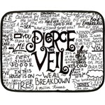 Pierce The Veil Music Band Group Fabric Art Cloth Poster Double Sided Fleece Blanket (Mini)  35 x27 Blanket Back