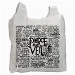 Pierce The Veil Music Band Group Fabric Art Cloth Poster Recycle Bag (Two Side)  Front