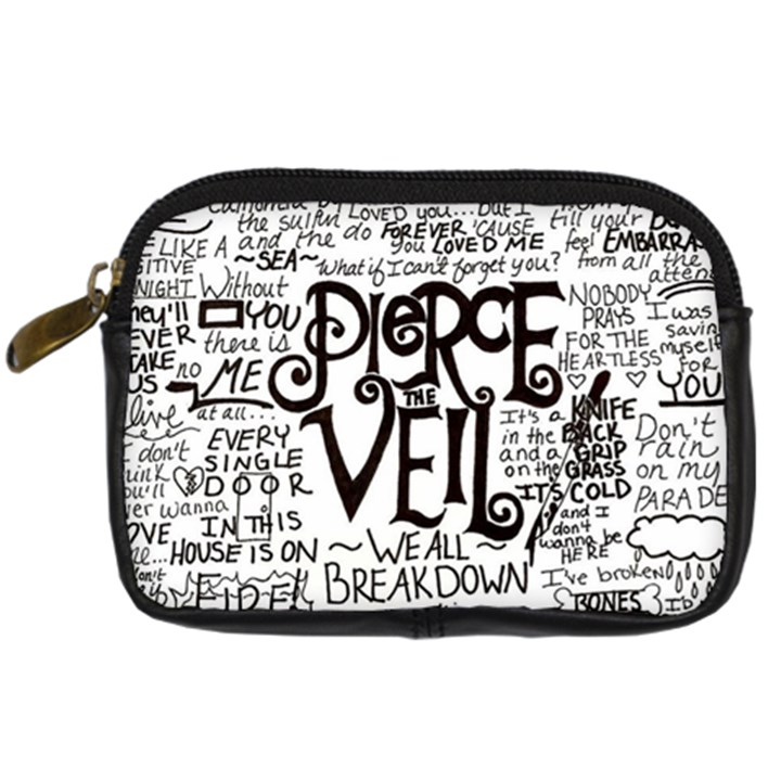Pierce The Veil Music Band Group Fabric Art Cloth Poster Digital Camera Cases