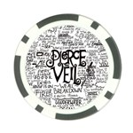 Pierce The Veil Music Band Group Fabric Art Cloth Poster Poker Chip Card Guards (10 pack)  Back