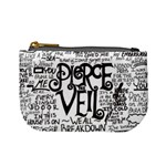 Pierce The Veil Music Band Group Fabric Art Cloth Poster Mini Coin Purses Front