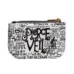 Pierce The Veil Music Band Group Fabric Art Cloth Poster Mini Coin Purses Back