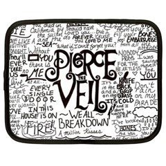 Pierce The Veil Music Band Group Fabric Art Cloth Poster Netbook Case (XXL)