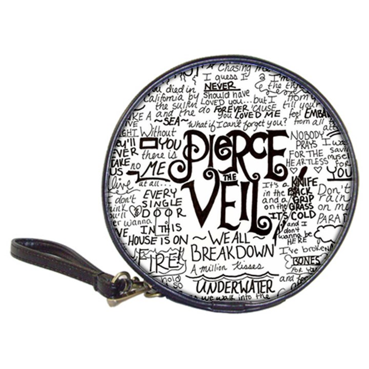 Pierce The Veil Music Band Group Fabric Art Cloth Poster Classic 20-CD Wallets