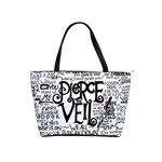 Pierce The Veil Music Band Group Fabric Art Cloth Poster Shoulder Handbags Front