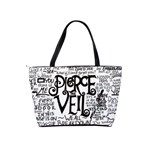 Pierce The Veil Music Band Group Fabric Art Cloth Poster Shoulder Handbags Back