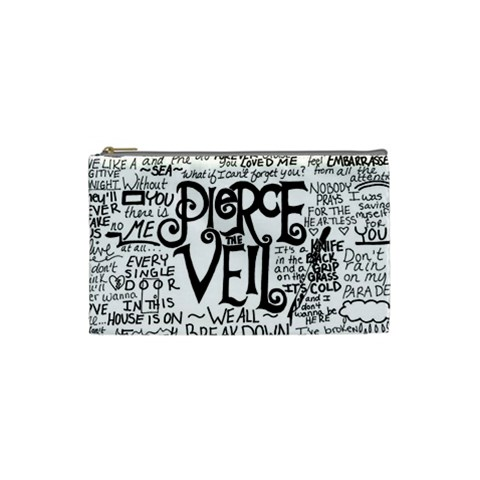 Pierce The Veil Music Band Group Fabric Art Cloth Poster Cosmetic Bag (Small)