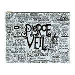 Pierce The Veil Music Band Group Fabric Art Cloth Poster Cosmetic Bag (XL) Front