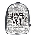 Pierce The Veil Music Band Group Fabric Art Cloth Poster School Bags(Large)  Front
