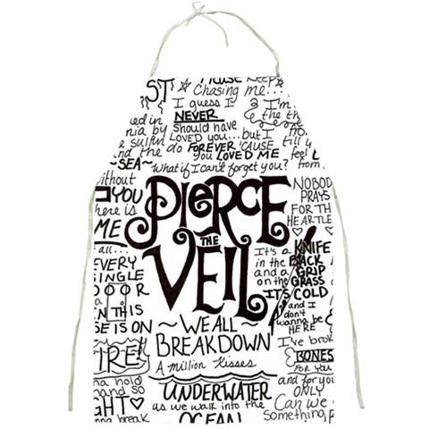 Pierce The Veil Music Band Group Fabric Art Cloth Poster Full Print Aprons
