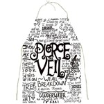 Pierce The Veil Music Band Group Fabric Art Cloth Poster Full Print Aprons Front