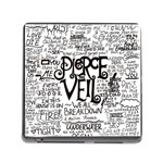 Pierce The Veil Music Band Group Fabric Art Cloth Poster Memory Card Reader (Square) Front
