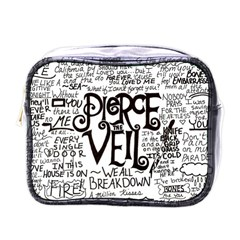 Pierce The Veil Music Band Group Fabric Art Cloth Poster Mini Toiletries Bags