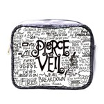 Pierce The Veil Music Band Group Fabric Art Cloth Poster Mini Toiletries Bags Front