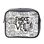 Pierce The Veil Music Band Group Fabric Art Cloth Poster Mini Toiletries Bag 2-Side Front