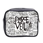 Pierce The Veil Music Band Group Fabric Art Cloth Poster Mini Toiletries Bag 2-Side Back