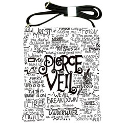Pierce The Veil Music Band Group Fabric Art Cloth Poster Shoulder Sling Bags