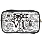Pierce The Veil Music Band Group Fabric Art Cloth Poster Toiletries Bags Front
