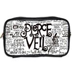 Pierce The Veil Music Band Group Fabric Art Cloth Poster Toiletries Bags 2-Side Back