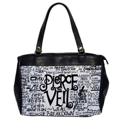Pierce The Veil Music Band Group Fabric Art Cloth Poster Office Handbags