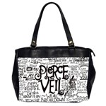 Pierce The Veil Music Band Group Fabric Art Cloth Poster Office Handbags (2 Sides)  Front