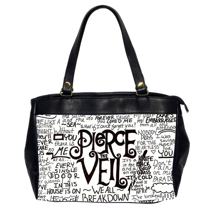 Pierce The Veil Music Band Group Fabric Art Cloth Poster Office Handbags (2 Sides)