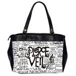 Pierce The Veil Music Band Group Fabric Art Cloth Poster Office Handbags (2 Sides)  Back