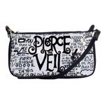 Pierce The Veil Music Band Group Fabric Art Cloth Poster Shoulder Clutch Bags Front