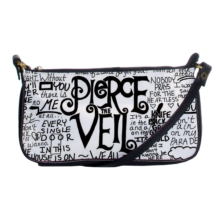 Pierce The Veil Music Band Group Fabric Art Cloth Poster Shoulder Clutch Bags