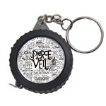 Pierce The Veil Music Band Group Fabric Art Cloth Poster Measuring Tapes Front