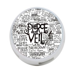 Pierce The Veil Music Band Group Fabric Art Cloth Poster 4 Port Usb Hub (two Sides)