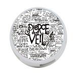 Pierce The Veil Music Band Group Fabric Art Cloth Poster 4-Port USB Hub (Two Sides)  Back