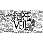 Pierce The Veil Music Band Group Fabric Art Cloth Poster Magic Photo Cubes Long Side 2