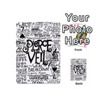 Pierce The Veil Music Band Group Fabric Art Cloth Poster Playing Cards 54 (Mini)  Front - Spade7
